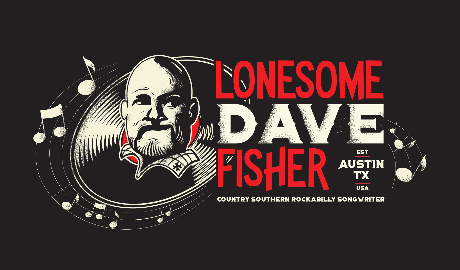 Lonesome Dave Fisher Logo